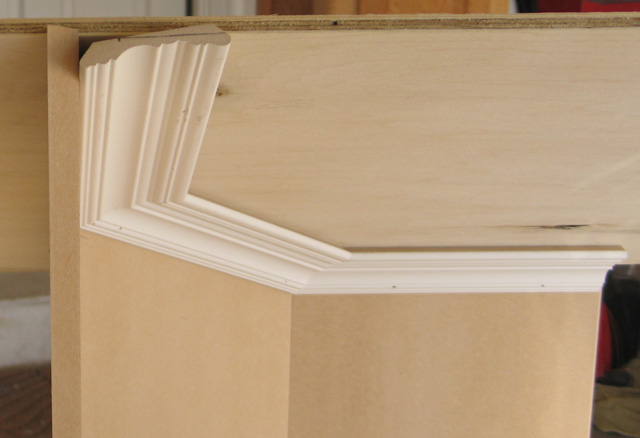 Octagon Roof Interior Crown Molding Angles Development